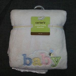 NWT Carter's Sweet Baby Blanket